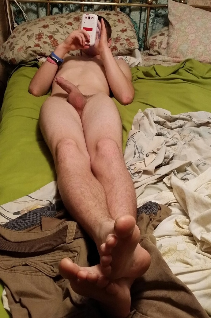 Nude Boy Bed