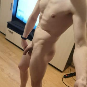 Muscle boy soft cock